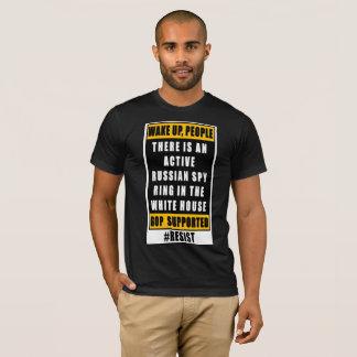 Resist the GOP Russian White House w/Trump T-Shirt