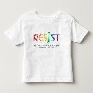 Resist Toddler Jersey T-Shirt