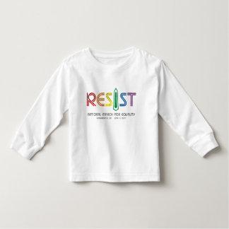 Resist Toddler Long Sleeve T-Shirt