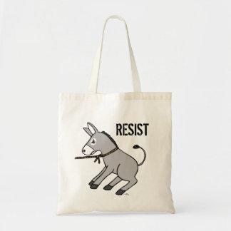 Resist Tote Bag Political US Politic Tote Bag