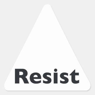 Resist Triangle Sticker