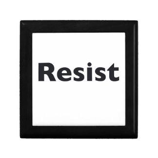 Resist Trinket Boxes