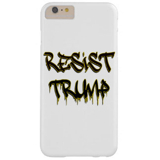 Resist Trump Barely There iPhone 6 Plus Case