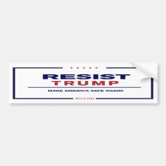 Resist Trump - Bumper Sticker