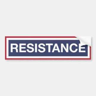 Resist Trump! Bumper Sticker