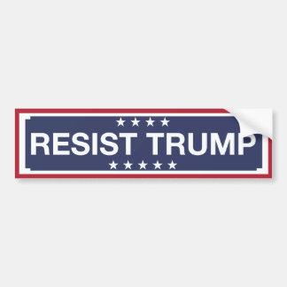 RESIST TRUMP BUMPER STICKER