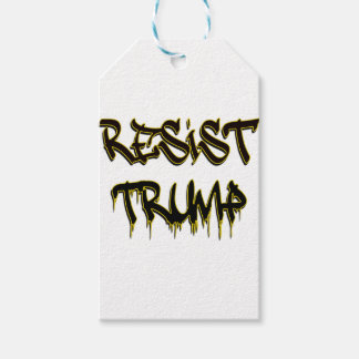 Resist Trump Gift Tags