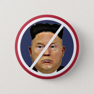 Resist Trump Jung-un! 2 Inch Round Button