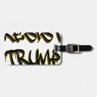 Resist Trump Luggage Tag