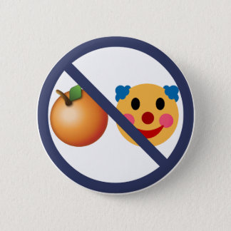 Resist Trump (Orange Clown) 2 Inch Round Button