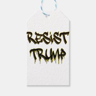 Resist Trump Pack Of Gift Tags