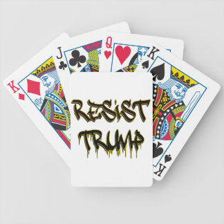 Resist Trump Poker Deck