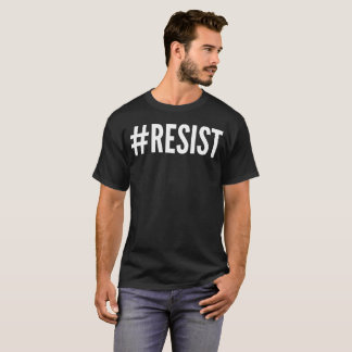 Resist Typography T-Shirt