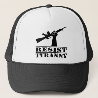Resist Tyranny AR Trucker Hat