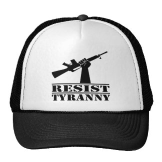 Resist Tyranny AR Trucker Hat