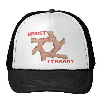 Resist Tyranny Trucker Hat