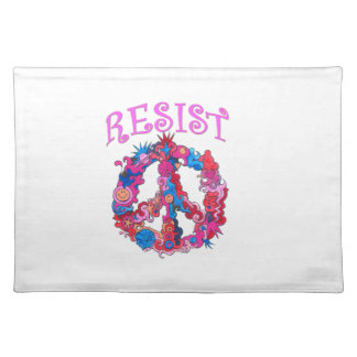 Resist with Peace Placemat