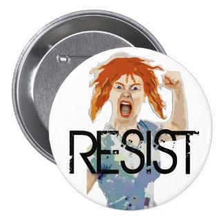 """RESIST: Women's Rights """"Anti-Trump"""" Button"""