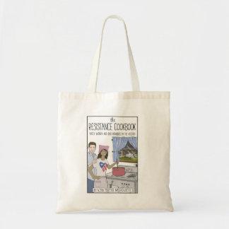 Resistance Cookbook Tote Bag