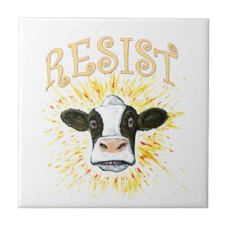 Resistance Dairy Cow Ceramic Tiles