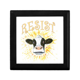 Resistance Dairy Cow Gift Box
