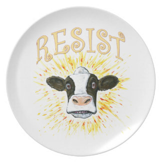 Resistance Dairy Cow Plate