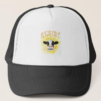 Resistance Dairy Cow Trucker Hat