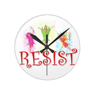 Resistance Fairies Wall Clocks