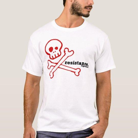 Resistance fightwear bones white T-Shirt