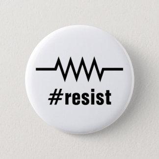 Resistance Hashtag 2 Inch Round Button