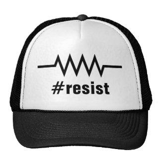 Resistance Hashtag Print Trucker Hat