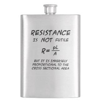 Resistance Humor Hip Flask