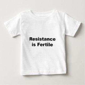 Resistance Is Fertile Baby T-Shirt