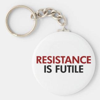 Resistance Is Futile Keychain