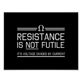 Resistance Is Not Futile Poster