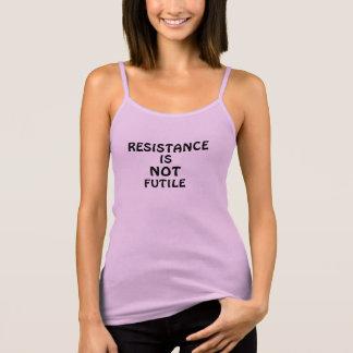 RESISTANCE IS NOT FUTILE TANK TOP