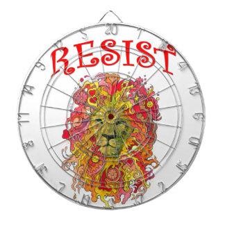 Resistance Lion Dartboard