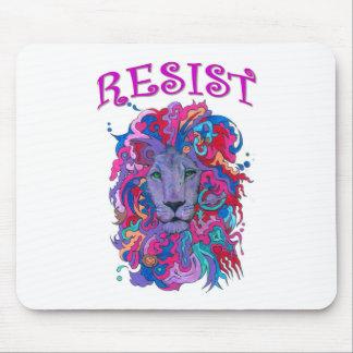Resistance lion mouse pad