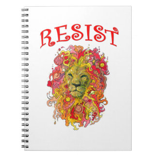 Resistance Lion Notebook
