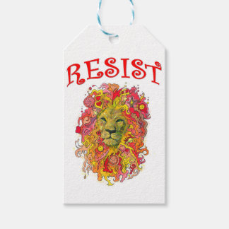 Resistance Lion Pack Of Gift Tags