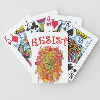 Resistance Lion Poker Deck