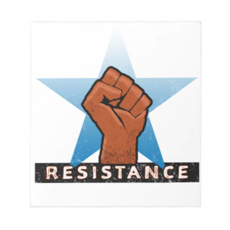 resistance notepad