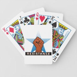 resistance poker deck