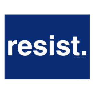 Resistance Postcard