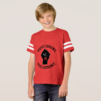 Resistance Tee, kids, double-sided T-Shirt