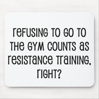 Resistance Training Mouse Pad