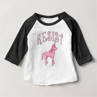 Resistance Unicorn Baby T-Shirt
