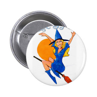 Resistance Witch 2 Inch Round Button