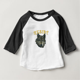 Resistance Wolf Baby T-Shirt