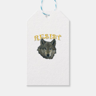 Resistance Wolf Gift Tags